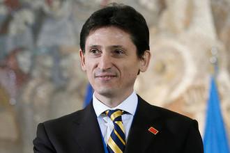 Посол Украины в Сербии Александр Александрович, 2016 год