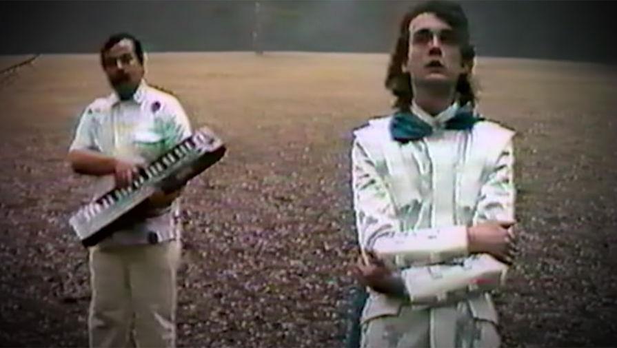 Кадр из клипа «На заре»