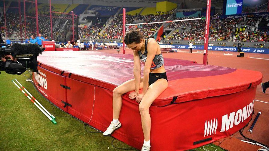 Российская легкоатлетка Мария Ласицкене