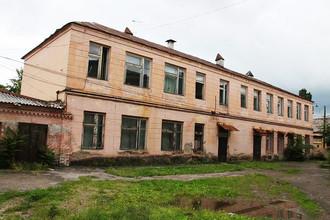 Бывшее здание филармонии в Нальчике