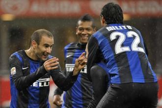 «Интер» выиграл у «Сампдории» не без помощи арбитра