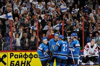 Финляндия победила Латвию в овертайме