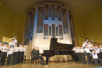 Фрагмент концерта «Приношение Бенджамену Бриттену»