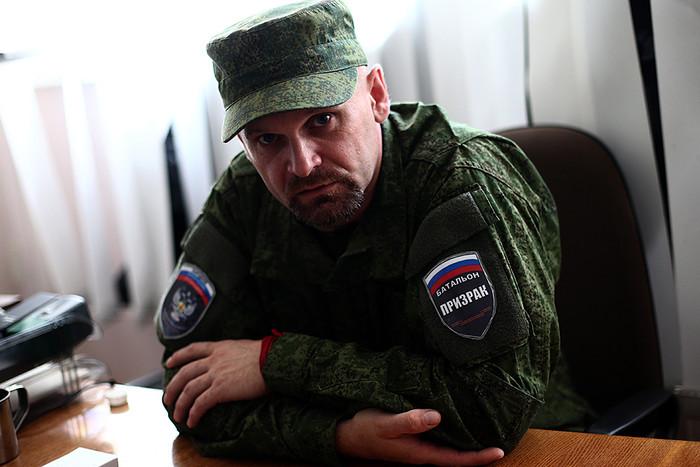 Алексей Мозговой, позывной «Призрак». Командовал 4-м батальоном территориальной обороны милиции ЛНР. 23 мая 2015 года его автомобиль обстреляли из пулеметов, «Призрак» погиб