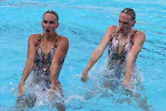 Светлана Ромашина и Наталья Ищенко уже выиграли золото дуэтом, теперь настало время групповых соревнований