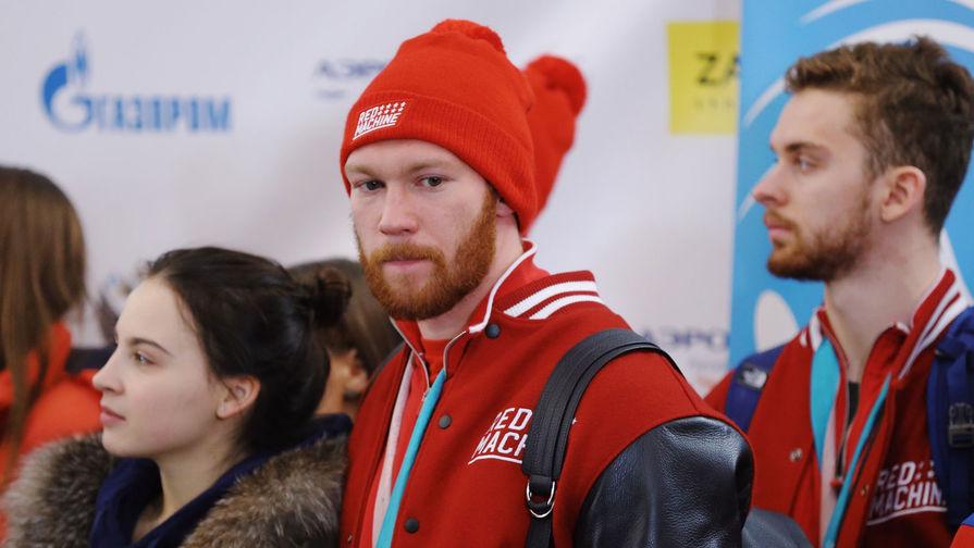 Хоккеист Владислав Гавриков