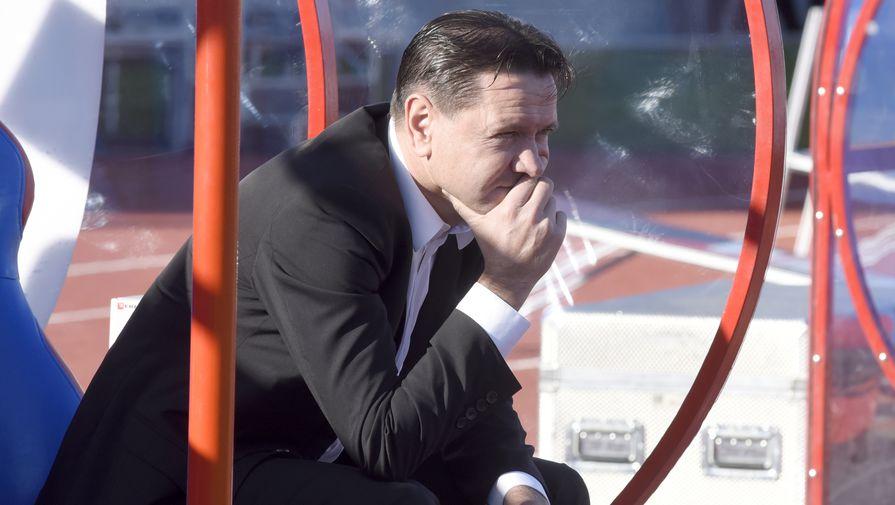 Главный тренер «Енисея» Дмитрий Аленичев