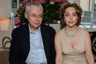 Игорь Малашенко и Божена Рынска, 2015 год