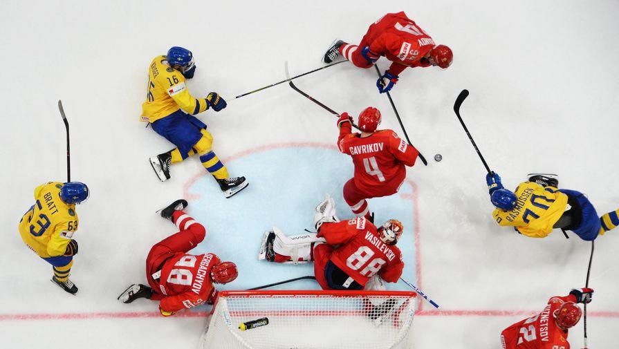 Россия по буллитам обыграла Швецию на Кубке Карьяла