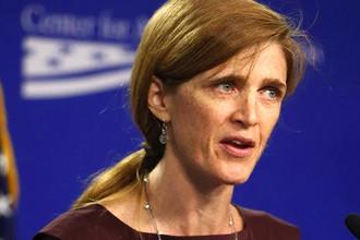 Американский постпред в ООН Саманта Пауэр