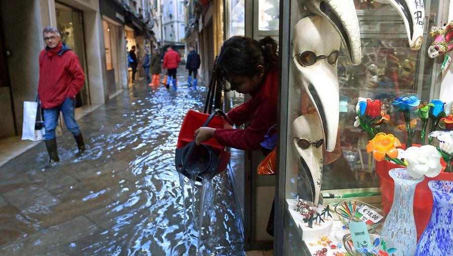 Наводнение в Венеции, 14 ноября 2019 года