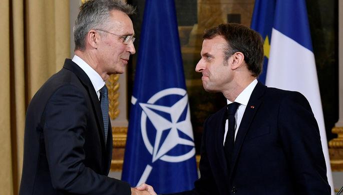 Новый лидер: Макрон послал НАТО «сигнал тревоги»