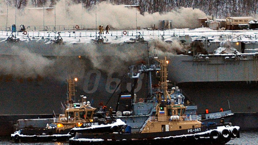«Борьба за живучесть»: на «Адмирале Кузнецове» погиб военный
