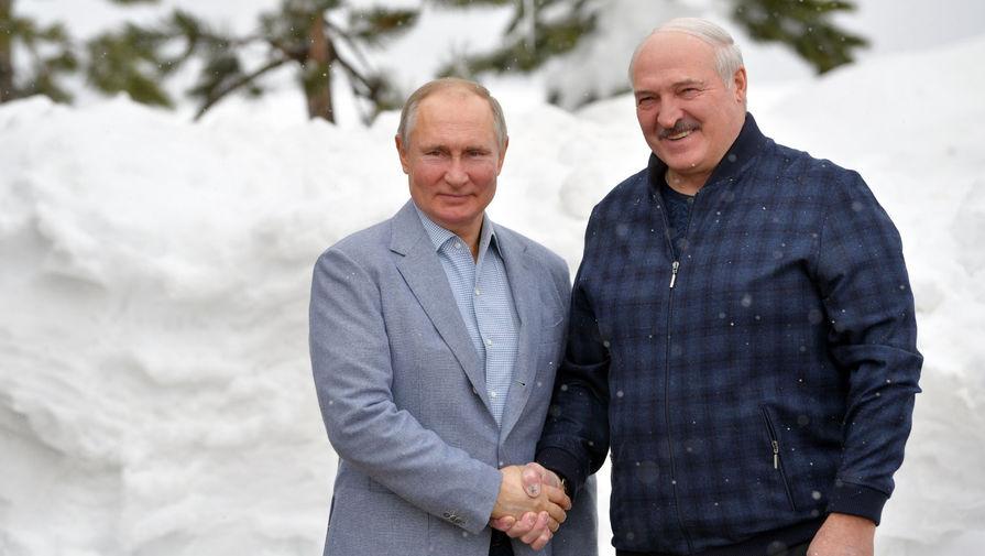 Встреча Путина и Лукашенко длится больше шести часов