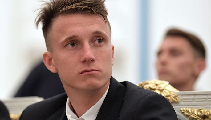 Полузащитник «Монако» Александр Головин