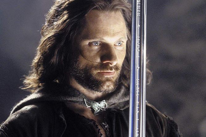 Вигго Мортенсен в роли Арагорна в фильме «Властелин колец: Возвращение короля» (2003)