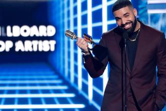 Репер Дрейк на Billboard Music Awards, 1 мая 2019 года