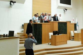 Скандал в Грузии: российских депутатов выгнали из парламента