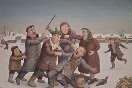 Буза - боевые русские танцы