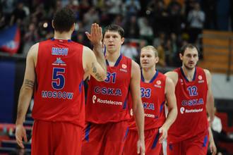 ЦСКА ждет пятую победу в Евролиге