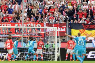 11 августа 2012 года «Зенит» разгромил «Спартак» в Санкт-Петербурге со счетом 5:0