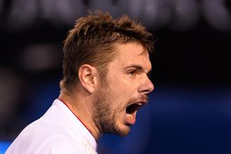 Швейцарский теннисист Станислас Вавринка поборется за выход в полуфинал Australian Open — 2014 с сербом Новаком Джоковичем