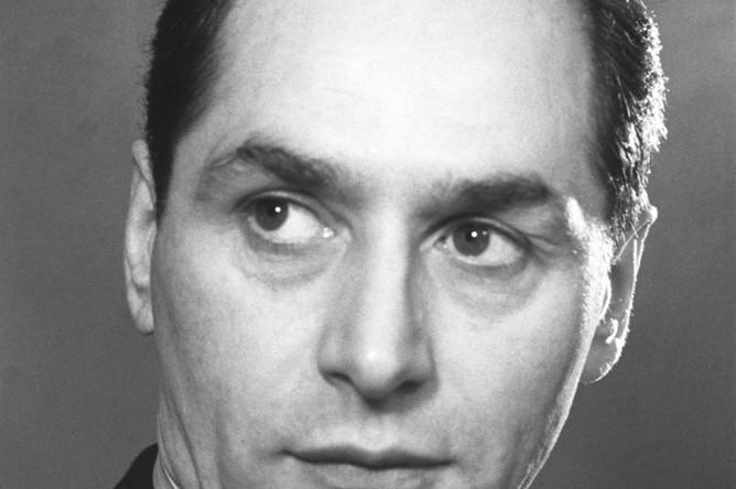 Художественный руководитель Государственного ансамбля народного танца СССР, народный артист РСФСР, лауреат Сталинской премии Игорь Моисеев, 1949 год