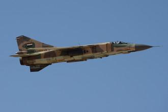 Истребитель МиГ-23 ВВС Сирии