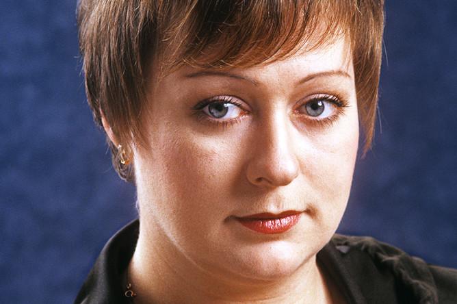 Актриса Государственного академического театра им. Е. Вахтангова Мария Аронова, 2001 год