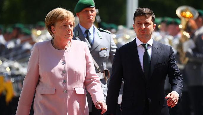 У Киева и Берлина возникли разногласия по «Северному потоку—2»