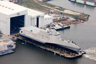 Литоральный боевой корабль (LCS) Gabrielle Giffords ВМС США