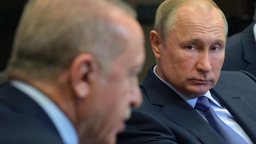 «Прекратить кровопролитие»: Путин поговорил с Эрдоганом о Карабахе
