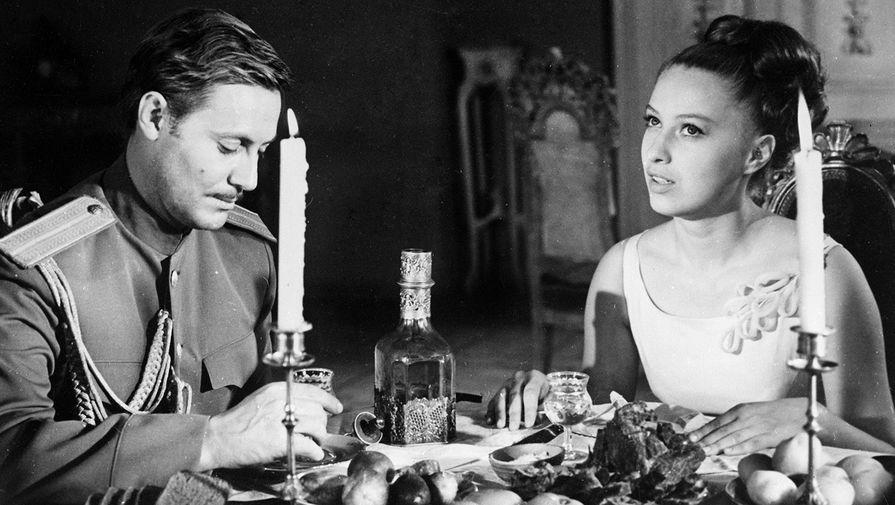 Юрий Соломин и Татьяна Иваницкая в фильме «Адъютант его превосходительства», 1969 год