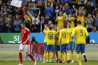 Сборная Швеции разгромила Уэльс в товарищеском матче