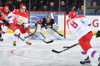 Матч суперсерии Россия U20 — Канада U20