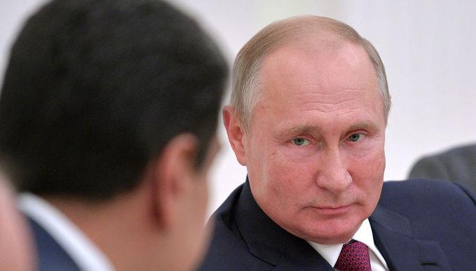 Президент России Владимир Путин и президент Венесуэлы Николас Мадуро во время встречи, 25 сентября 2019 года