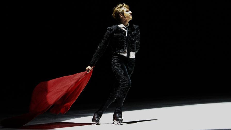 Фигурист Алексей Ягудин выступает в ледовом мюзикле «Кармен», 2015 год