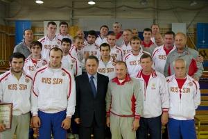 Виталий Мутко на встрече со сборной России по боксу