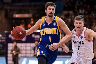 Атакующий защитник баскетбольных «Химок» Алексей Швед