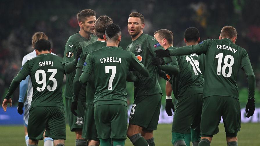 Краснодар проиграл шесть из восьми матчей в 2021 году