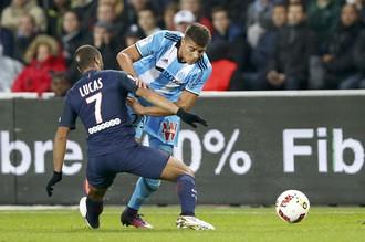 ПСЖ и «Марсель» сыграли вничью в 10-м туре чемпионата Франции по футболу