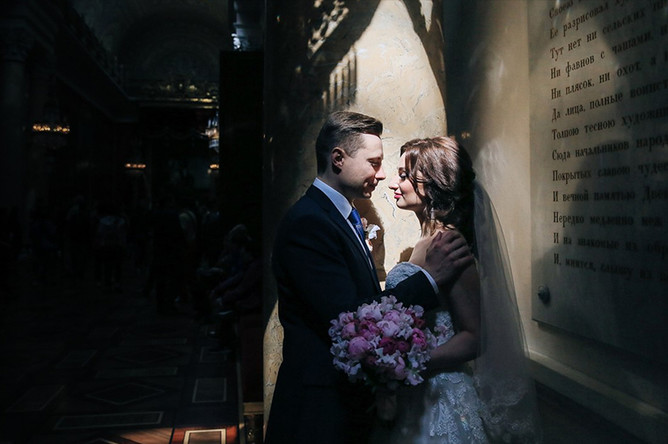 Анастасия Солтан с мужем