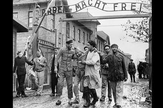 Освобождение заключенных лагеря Аушвиц, 27 января 1945 года