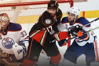 «Анахайм» обыграл «Эдмонтон» в матче плей-офф НХЛ