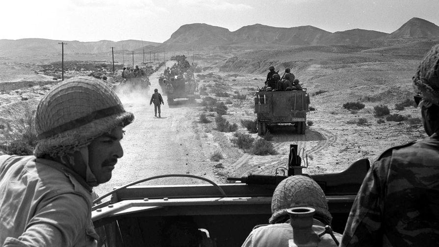 Бронемашины Израиля. Южный Синай, 1967 год
