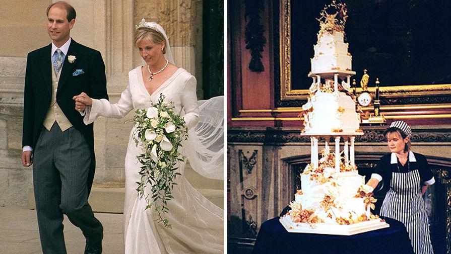 Свадьба Графа Эдвард Уэссексого и Софи Рис-Джонс, 19 июня 1999 года