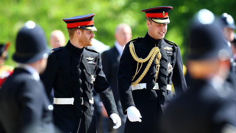 СМИ рассказали о страхе принца Уильяма за монархию из-за поведения брата