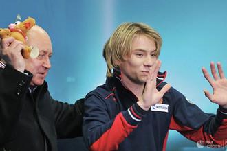 Артур Гачинский (справа) с Алексеем Мишиным