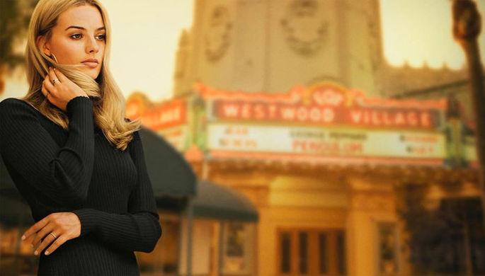 Марго Робби в кадре из фильма «Однажды в Голливуде»