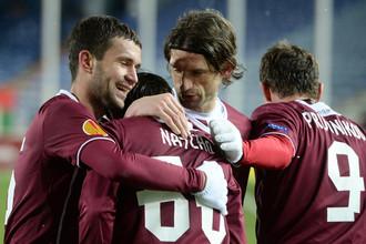 «Рубин» не удержал победу в матче с «Марибором», но все равно вышел из группы.